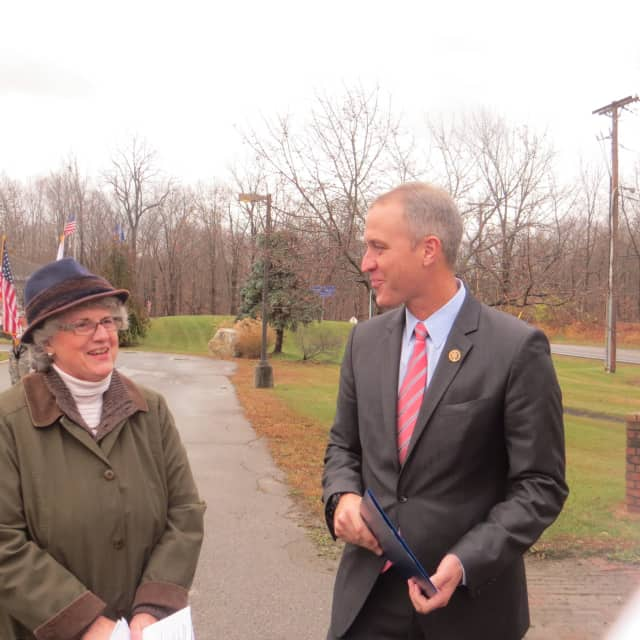 "U.S. Rep. Sean Patrick Maloney, D-Cold Spring, said, ""Our local law enforcement officers and other first responders put their lives on the line every day to protect our families."""