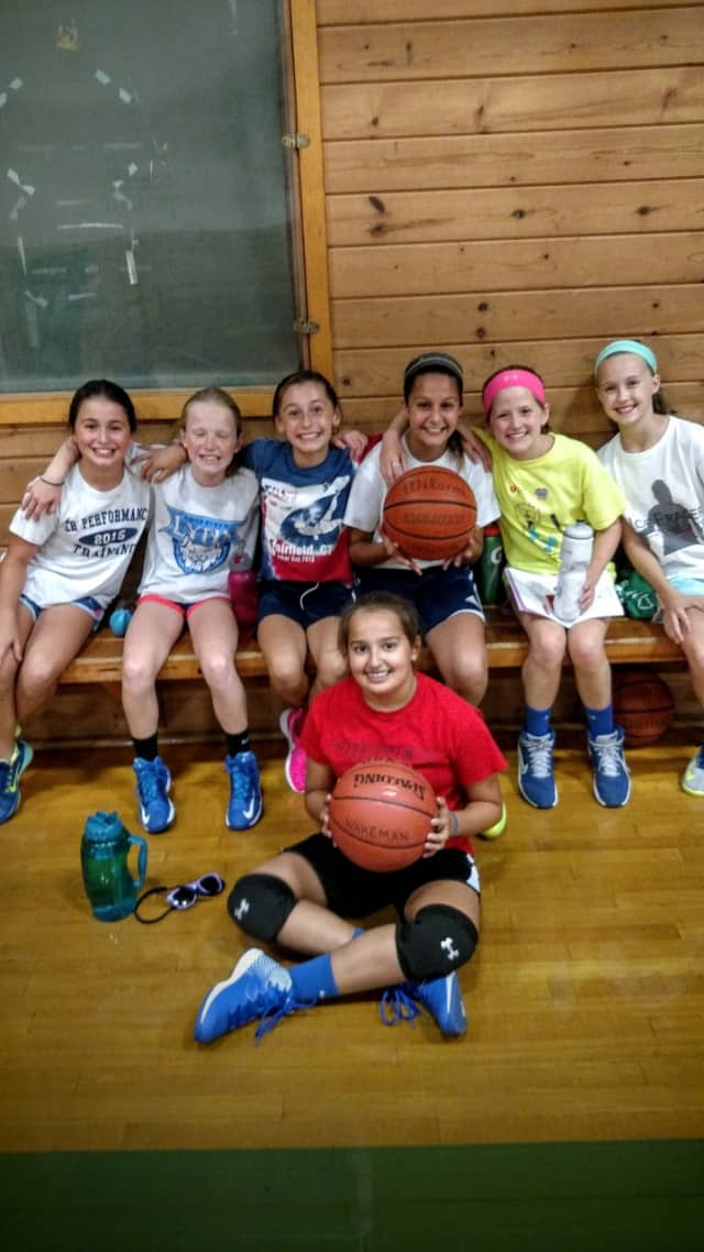 The Wakeman 6th grade girls basketball team is set to take the court this year.