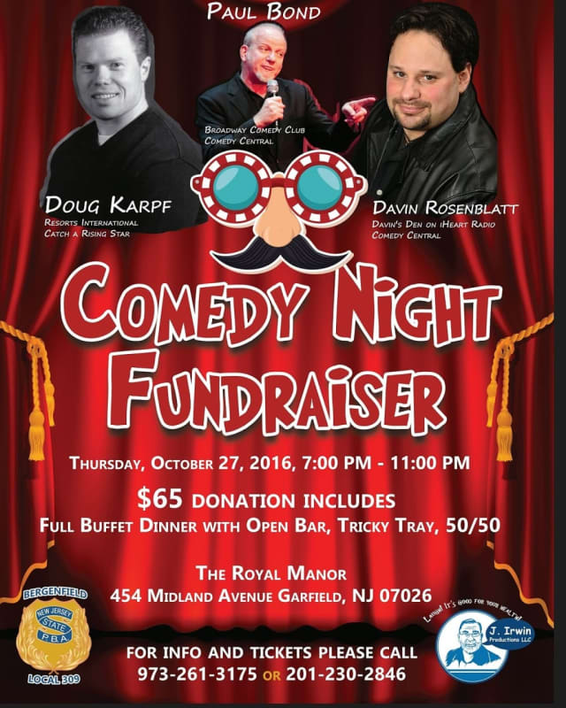 TICKETS/INFO: (973) 261-3175 or (201) 230-2846.
