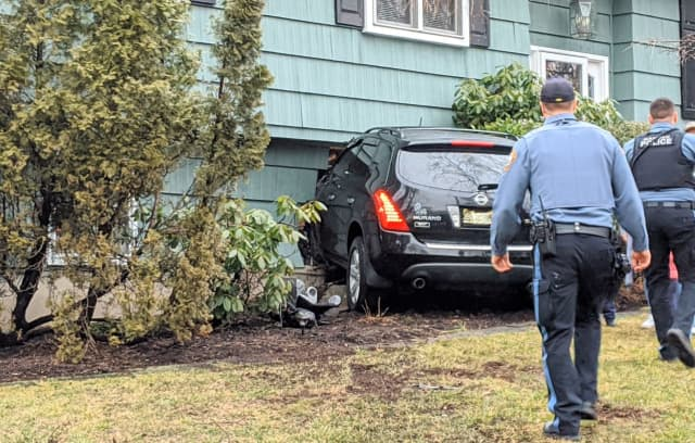 Two Mahwah police officers were there instantly and made sure the occupants were OK.
