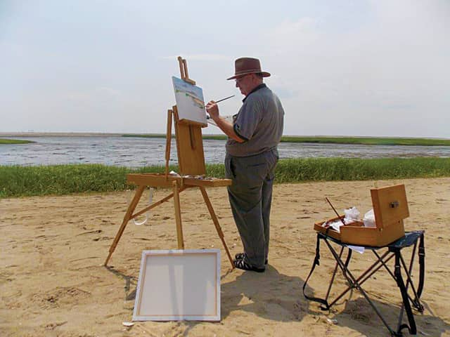 Stratford artist Don Henault will exhibit his works at Stratford Library this summer.