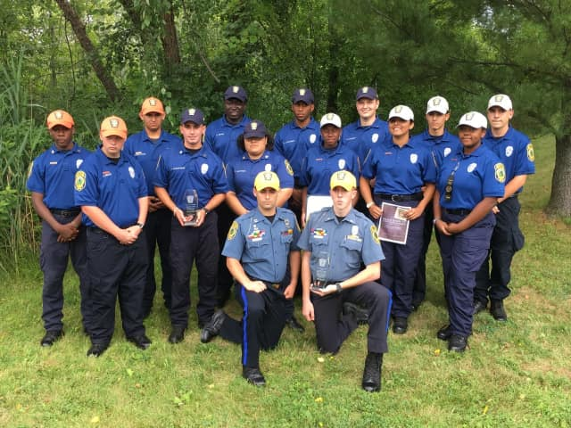 Fifteen members of the Fairfield Explorers attended the 2017 Cadet Police Academy.