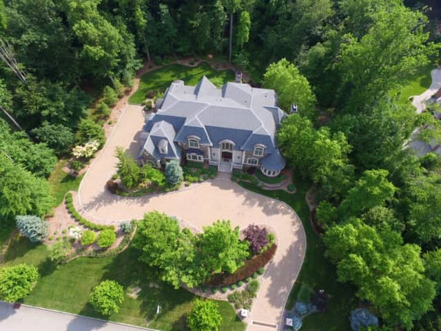 This Brams Hill Drive home is on the market in Mahwah.