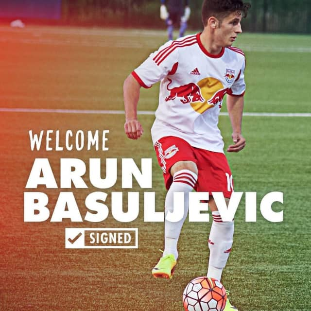 Mahopac's Arun Basuljevic just signed to play with the MLS New York Red Bulls.