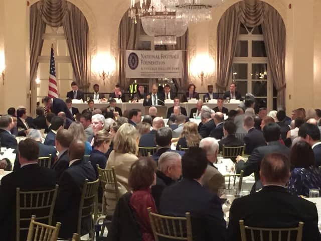 The Golden Dozen Award Banquet will be held in January at the Westchester Country Club.