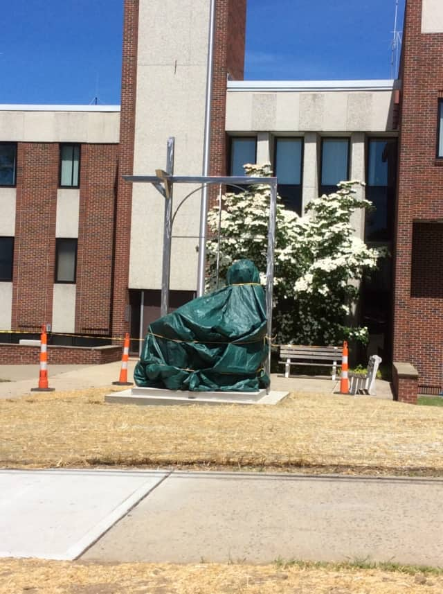 The City of Danbury will unveil the new Hatter's Monument on Monday.