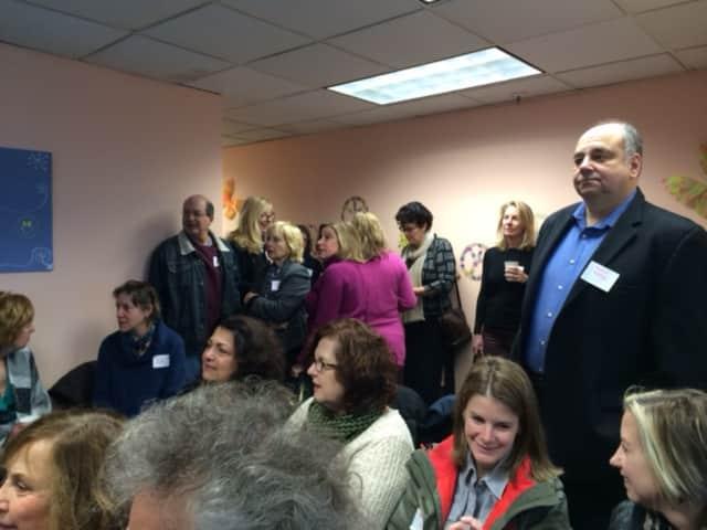 Writers converge on Fairfield County Writers' Studio in Westport.