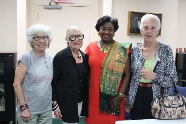 Sen. Andrea Stewart Cousins recently met with the JCC on the Hudson's Men's Club in Tarrytown