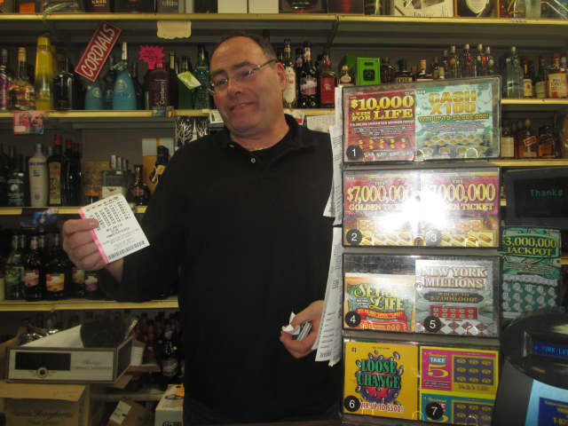 The first winning Pick 6 lottery ticket was sold at a Ramsey convenience store Monday night.