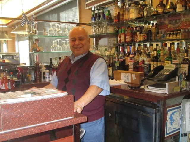 Peter Tsagarakis of the Croton Colonial Diner.