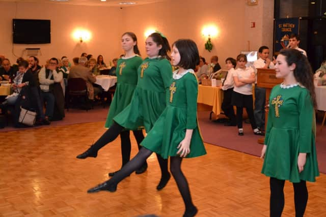 Irish step dancers will perform at the Bergen County Irish Festival on June 25.