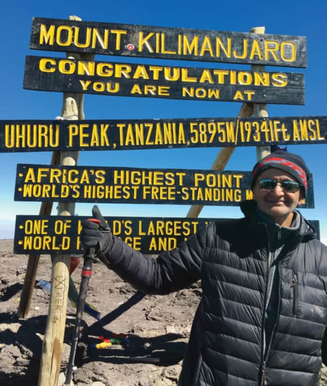 Dr. Rajiv Narula conquered Mount Kilimanjaro and helps fellow climbers along the way.