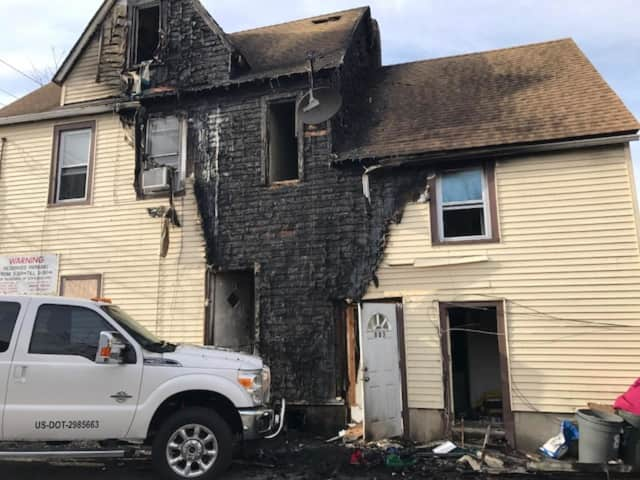 """Mount Pleasant police have ruled a severe house fire that displaced residents of 83 Franklin Ave. in Thornwood on Sunday night, April 9 as """"accidental."""""""
