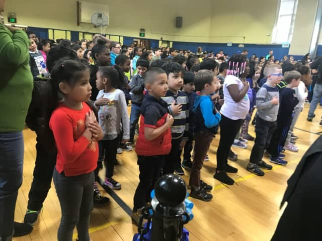 "Tracey Magnet School in Norwalk was named a state and national ""School of Character"" in 2019."