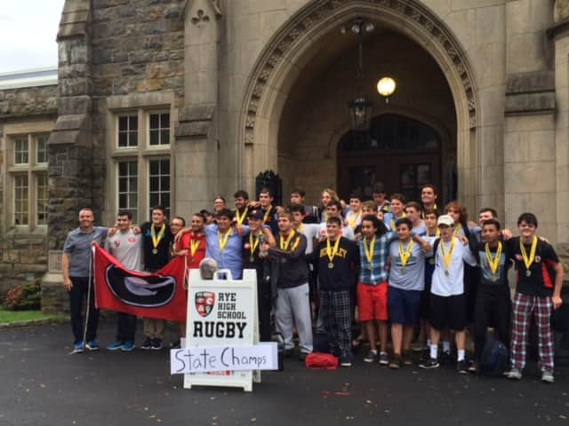 The Rye Rugby Club Team has won the New York State Final game.