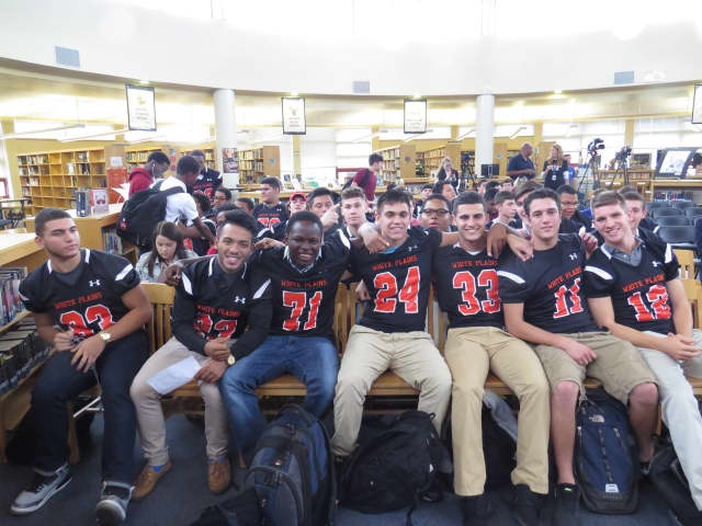 The White Plains High School football team is just one of the school's sports team that work hard to stay safe while on the playing field.