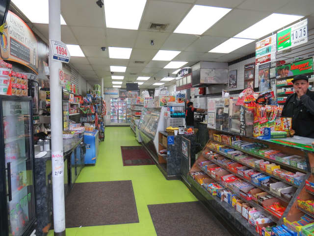 The owner of New Roc Deli in New Rochelle sold a winning Powerball ticket from Saturday's drawing.