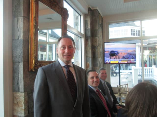County Executive Rob Astorino promoted Westchester County's strengths and quality of life among attributes at a recent meeting with real estate brokers in New York City.