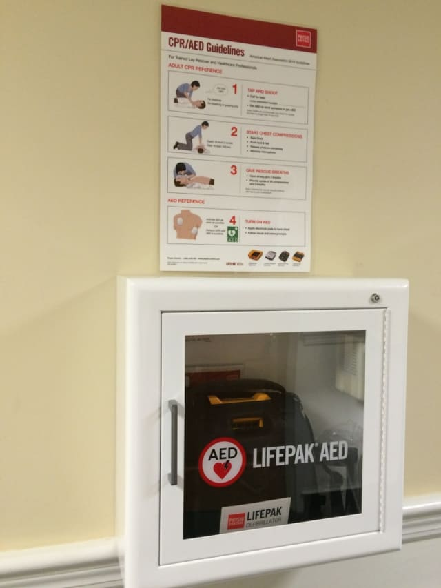 Oradell will purchase three new AEDs.