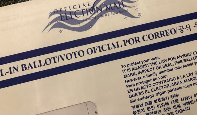 Official mail-in ballot.