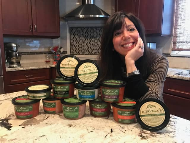 Glen Rock resident Rochelle Randazzo, owner of Randazzo's Honest to Goodness Sauces and Pasta.