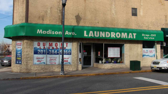 The Madison Avenue Laundromat in Dumont