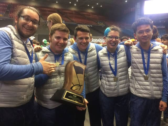 Fair Lawn Indoor Percussion took home a world title on Friday.