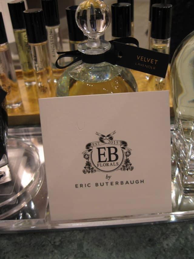 A selection of the light, unisex EB Florals fragrances includes Velvet Lavender.