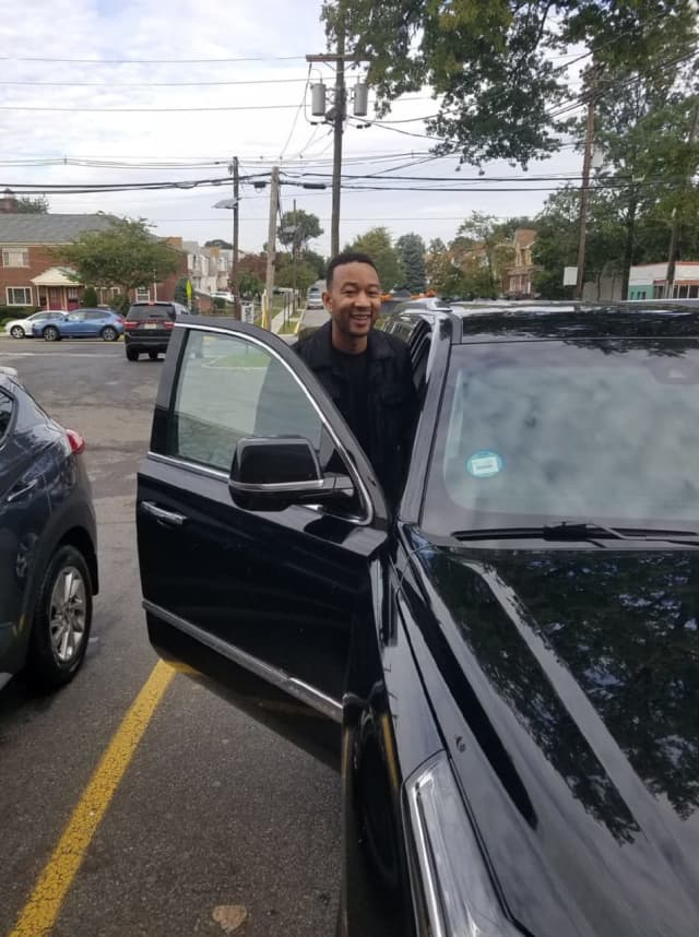 John Legend was at the 7-Eleven in Wood-Ridge.