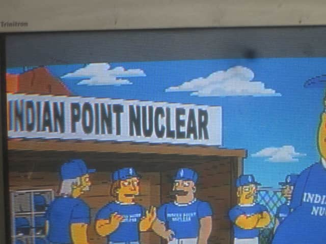 Indian Point's softball team was featured on the Simpsons.