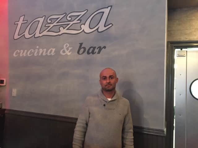 Roberto Furnari, one of the owners of Tazza Osteria & Bar in Newtown.