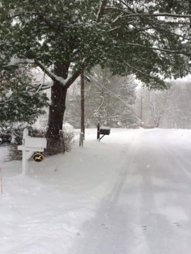 Bronxville DPW crews continue their snow removal efforts following last weekend's storm.