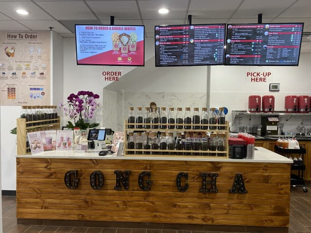Gong Cha is open in Fort Lee.