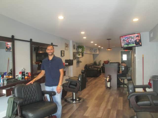 Michael Masi, owner of The Gentlemen's Barber Shop.