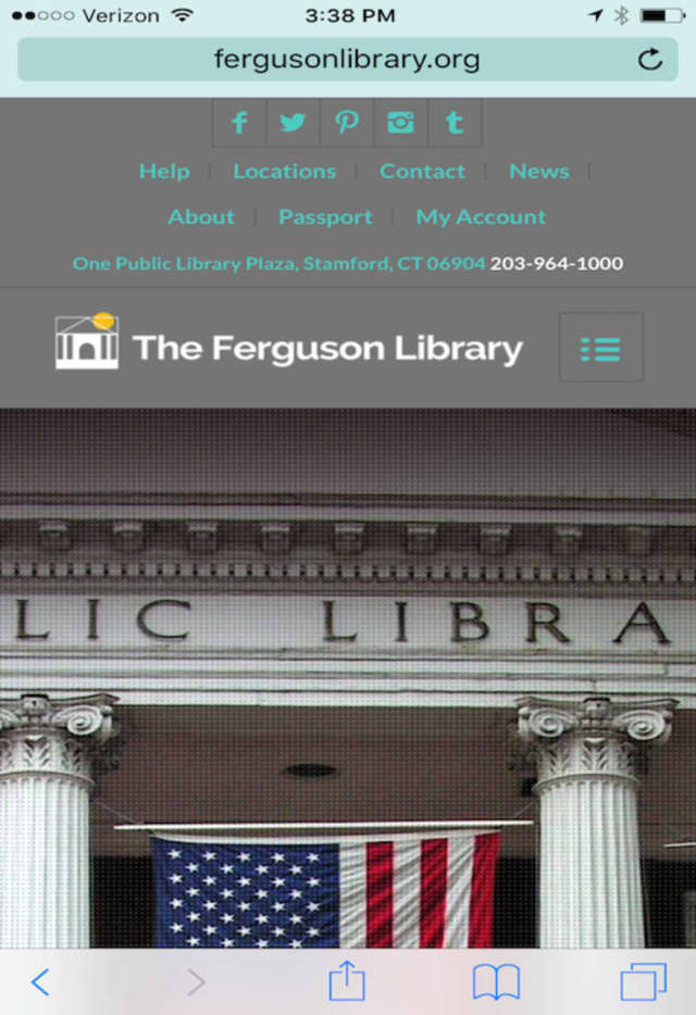Ferguson Library launched a new mobile website in March.