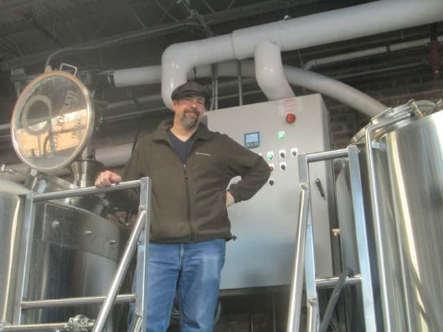Ricardo Petroni, one of the partners in Equilibrium Brewery.