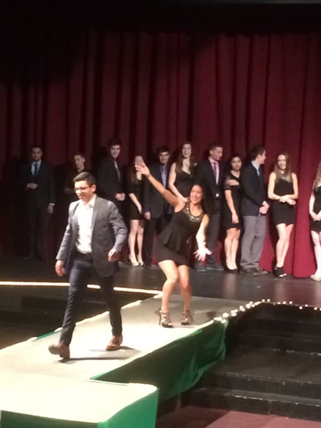 "Leonia students are competing for the ""Mr. Senior"" crown."