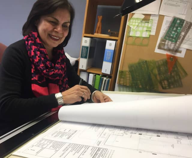 Paredes-Grube Architecture in Glen Rock will feel rather empty without Xiomara Paredes Wednesday, who will be out for Day Without Women.