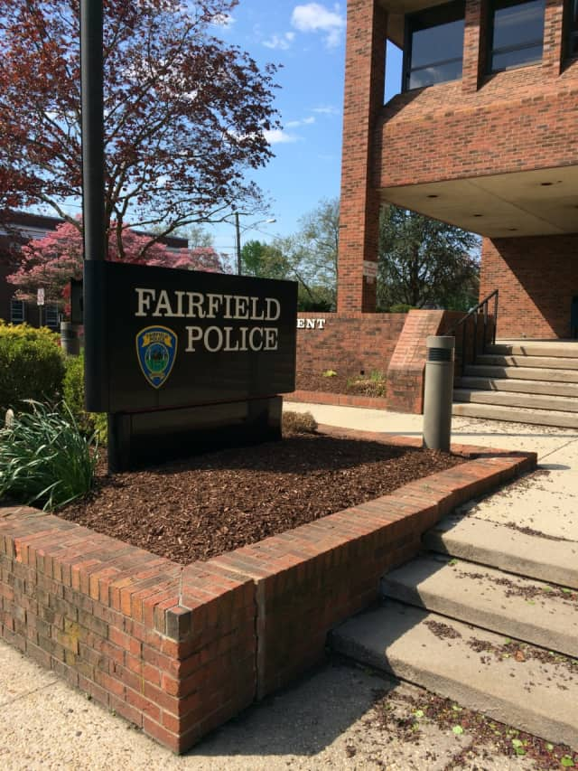 Fairfield Police charged the woman with third-degree assault and breach of peace.
