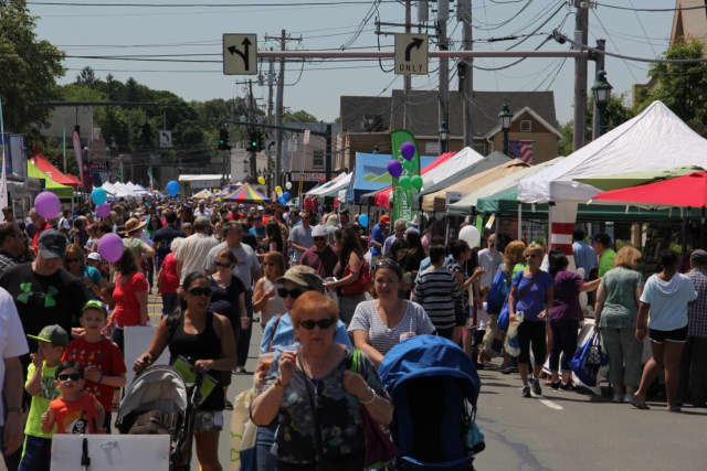 Nanuet is hosting its annual street fair.