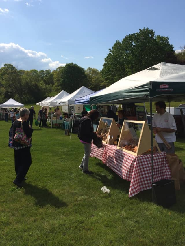 Sunny skies make Thursday a great day to visit a farmers market ahead of some rainy weather predicted for this weekend.