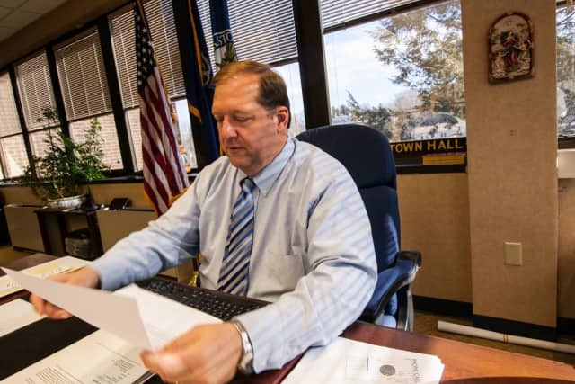 Clarkstown Supervisor George Hoehmann