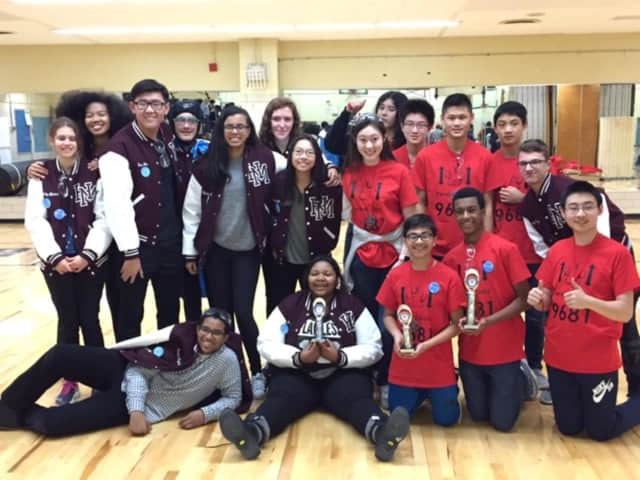 The Basement Lions advanced to a state robotics competition at Pace University later this year after this month's second place finish in Queens.