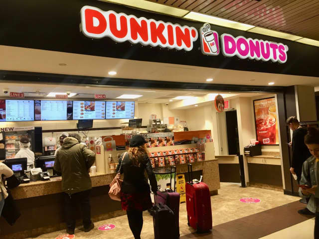 Dunkin Donuts is now open in Port Authority Bus Terminal.