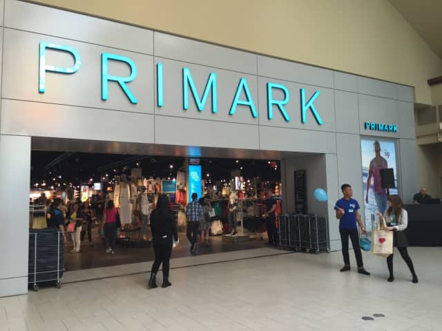 Primark opened this summer at the Danbury Fair Mall