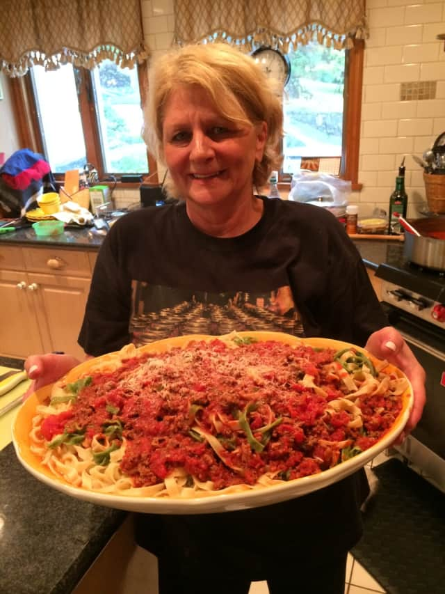 Jacqueline Ruby of Waccabuc, N.Y. loves cooking.