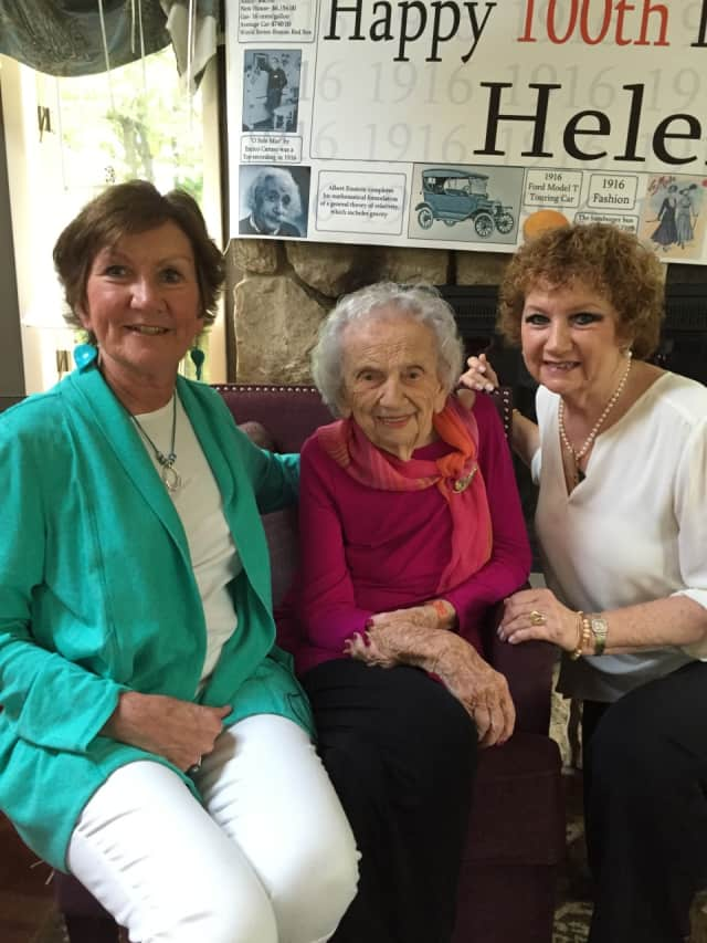 Norwalk resident Helen Palmer celebrates her 100th birthday Saturday.