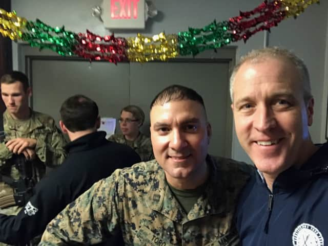 Rep. Sean Patrick Maloney (D-Cold Spring) in Afghanistan with Christian Toro
