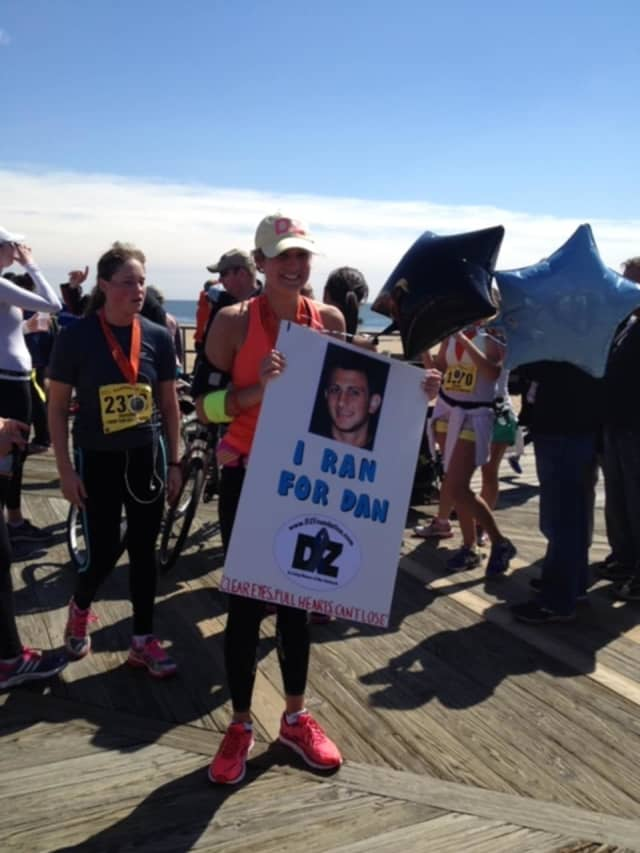 Jessica Ohnikian of Mahwah is running the New York City Marathon in honor of Dan Zolotorofe, who died at 20 years old from complications of juvenile diabetes.
