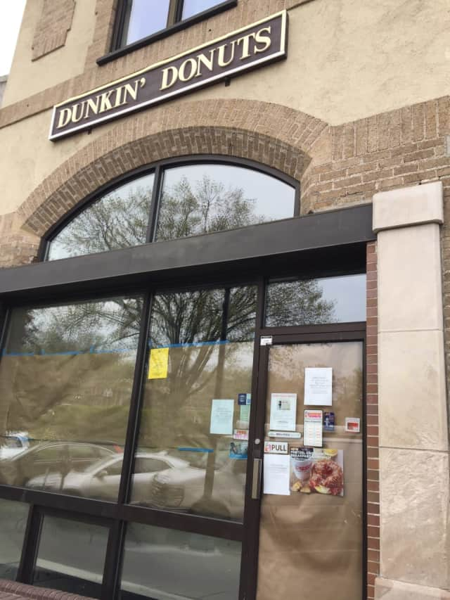 Dunkin Donuts in Ridgewood is closed for renovations.